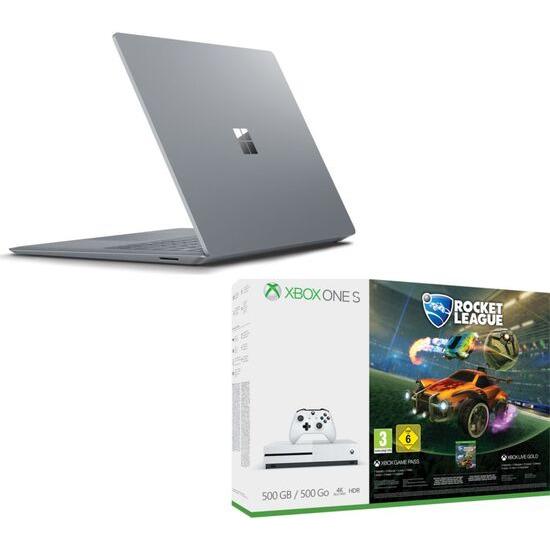 Microsoft 13.5 Surface Laptop Xbox One S Rocket League & Xbox LIVE Bundle