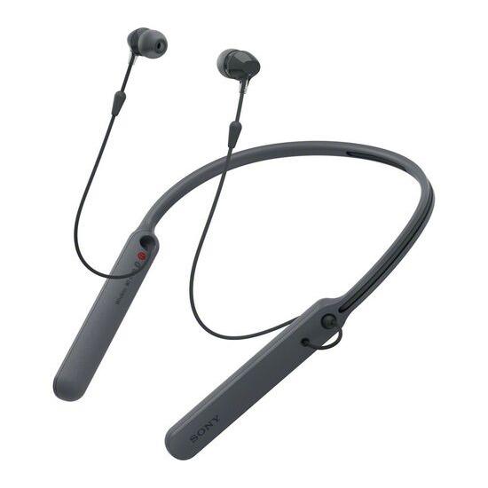 SONY WI-C400 Wireless Bluetooth Headphones - Black