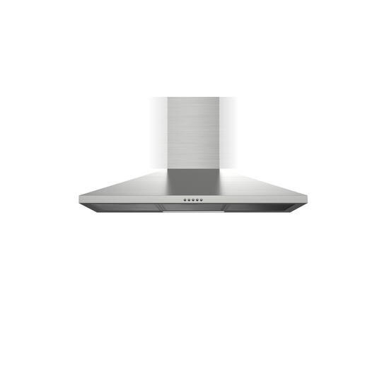 electriQ 90cm Traditional Stainless Steel Chimney Cooker Hood