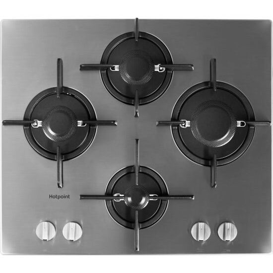 Hotpoint FTGHL 641 D/IX/H Gas Hob - Stainless Steel