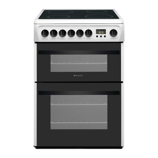 Hotpoint Newstyle DCN60P 60 cm Electric Ceramic Cooker