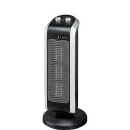 Logik L20CTH17 Portable Hot & Cool Ceramic Fan Heater - Black & Silver Reviews