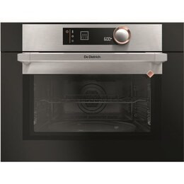 DE DIETRICH DKC7340X Built-in Combination Microwave - Black & Silver Reviews