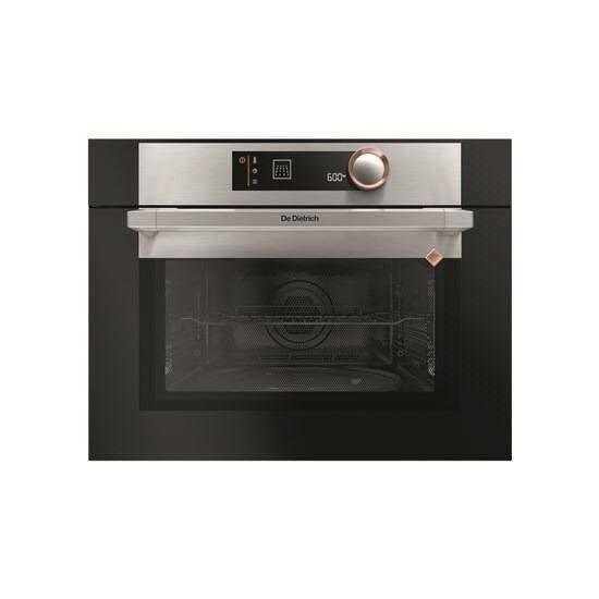 DE DIETRICH DKC7340X Built-in Combination Microwave - Black & Silver