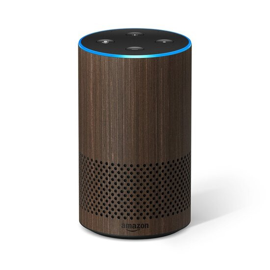 Amazon Echo 2nd Gen - Walnut Finish