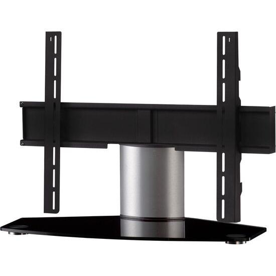 Plasma PL2310 B-SLV 750 mm TV Stand with Bracket - Black & Silver