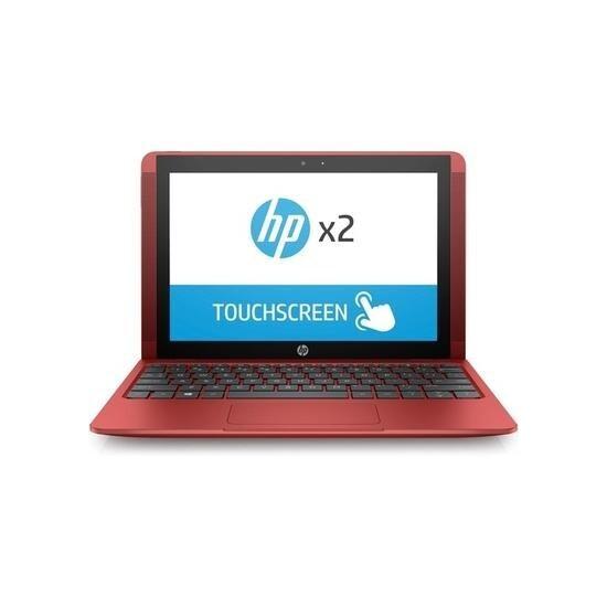 HP x2 10-p010na Intel Atom X5-Z8350 4GB 64GB SSD 10.1 Inch Windows 10 Touchscreen Convertible Laptop Red
