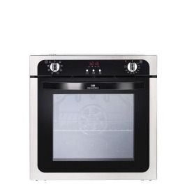 NW602MFSTA 600mm Electric Single Oven with 73L Capacity in S/steel Reviews
