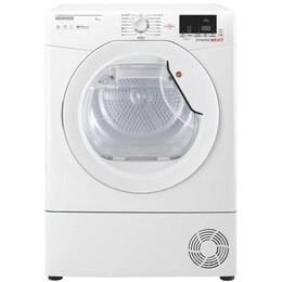 Hoover DXC8DE Dynamic Next Aquavision 8kg Freestanding Condenser Sensor Tumble Dryer With One Touch Reviews