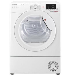 Hoover DXH9A2DE Dynamic Next Aquavision 9kg Freestanding Heat Pump Condenser Sensor Tumble Dryer Wit Reviews