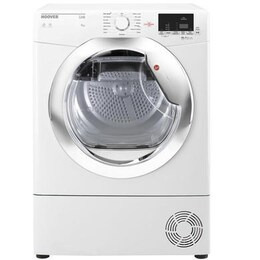 Hoover HLC9DCE Link 9kg Freestanding Condenser Sensor Tumble Dryer With One Touch With Chrom Reviews