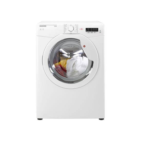 Hoover HLV8LG Link 8kg Freestanding Vented Sensor Tumble Dryer With One Touch With Gla