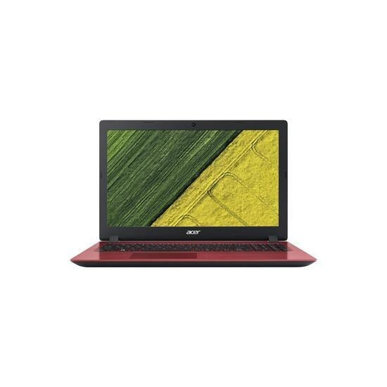 ACER Aspire A315-51 Core i3-6006U 8GB 1TB 15.6 Inch Windows 10 Laptop in Red