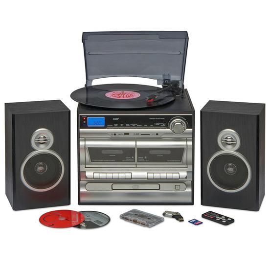 Zennox 6-in-1 Midi Hi-Fi Music System