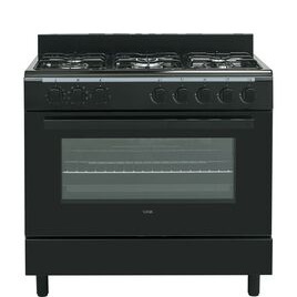 LOGIK LFTG90B17 90 cm Duel Fuel Range Cooker Reviews
