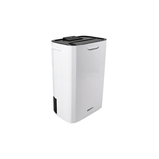 ElectriQ 8L Desiccant Fast Dry Dehumidifier with Ioniser and Air Purifier function for 2-5 bed Houses or Offices