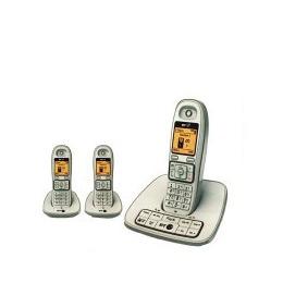 BT 7600-TRIO-WHITE White Cordless Dect Digital Triple Phone and Answer Machine Reviews