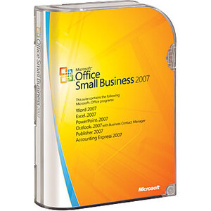 Photo of Microsoft Office 07 Small Business Edition Software