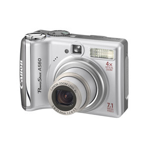 Photo of Canon PowerShot A560 Digital Camera