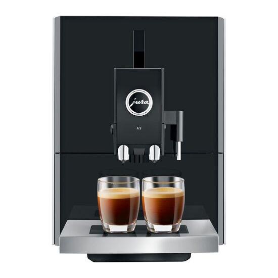 JURA A9 Bean to Cup Coffee Machine - Aluminium