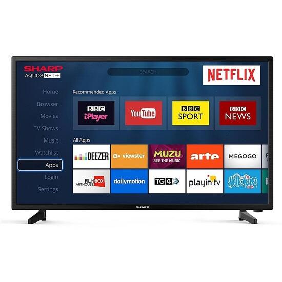Sharp LC-32HG5241K 32 Inch HD Ready Smart D-LED TV
