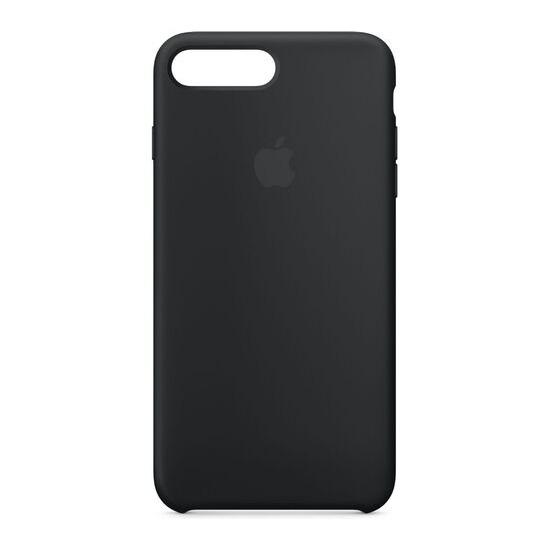 Silicone iPhone 7 Plus Case - Black