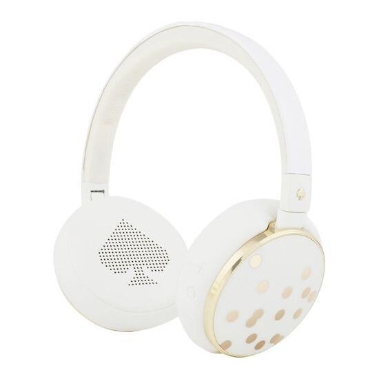 KATE SPADE New York Wireless Bluetooth Headphones - Cream & Confetti
