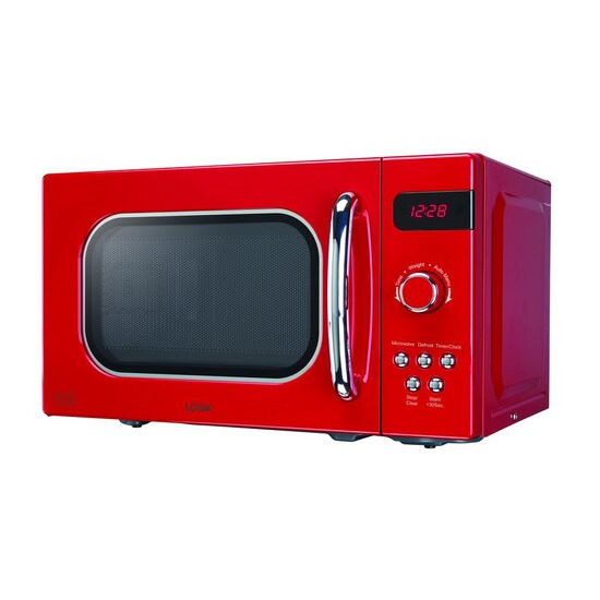 LOGIK L20MR17 Solo Microwave - Red