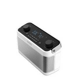 BLUTUNE5W DAB/DAB+/FM Radio with Bluetooth and Alarm in White Reviews