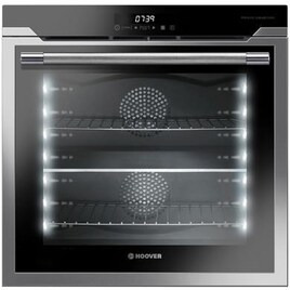 Hoover HOAZ8673IN 15 Function 78L Two zone Electric Single Oven With LED Vision Stainless Steel Reviews