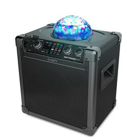 ION Party Rocker Plus Portable Bluetooth Wireless Speaker - Black