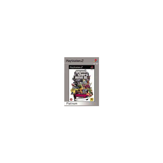 Grand Theft Auto 3 [Platinum] (PS2)