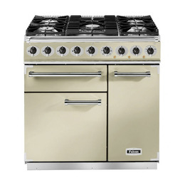 Falcon F900DXDFCRBG 69740 - 900 Deluxe 90cm Dual Fuel Range Cooker