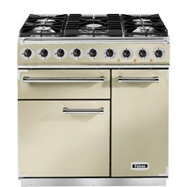 Falcon F900DXDFCR/CM 77050 - 900 Deluxe 90cm Dual Fuel Range Cooker