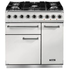 Falcon F900DXDFWHNM 82380 - 900 Deluxe 90cm Dual Fuel Range Cooker
