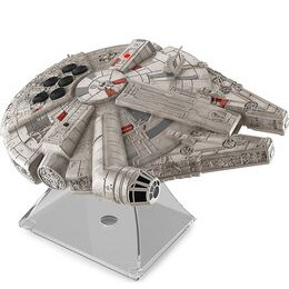 Star Wars Li-B17 Millennium Falcon Portable Bluetooth Wireless Speaker Grey & Reviews