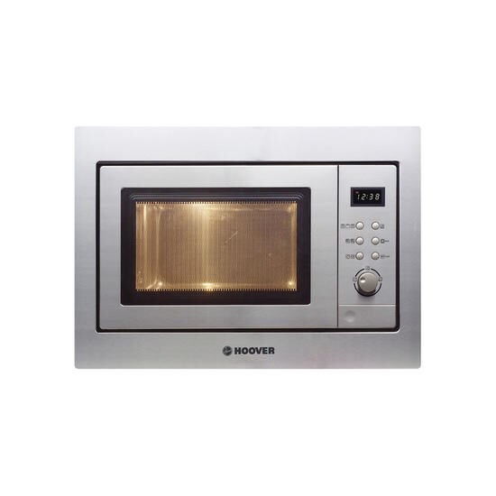 Hoover HMG201X 60cm Wide Built Microwave Oven And Grill Stainless Steel