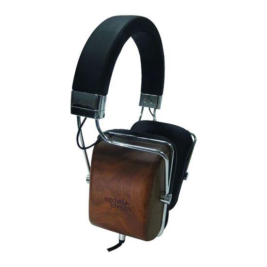 M&J MJ1 Headphones - Black Wood
