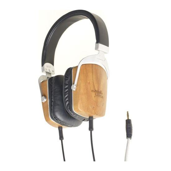 M&J MJ2 Headphones - Black Wood