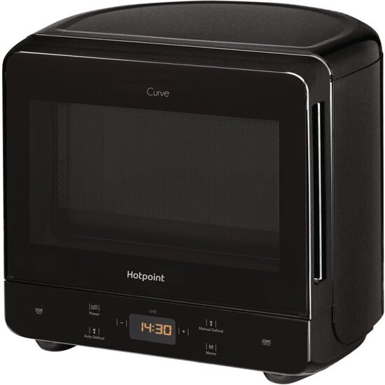 Hotpoint Curve MWH 1331 B Microwave - Black