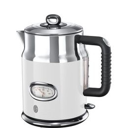 Russell Hobbs Retro 21674 Jug Kettle - White Reviews