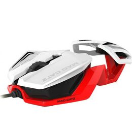 MAD CATZ RAT 1 Optical Gaming Mouse - White & Red Reviews