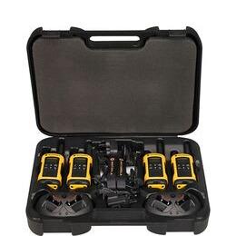 MOTOROLA TLKR T80 Extreme Quad Two-way Radio - Orange & Black
