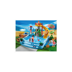 Photo of Playmobil Pool With Water Slide Toy