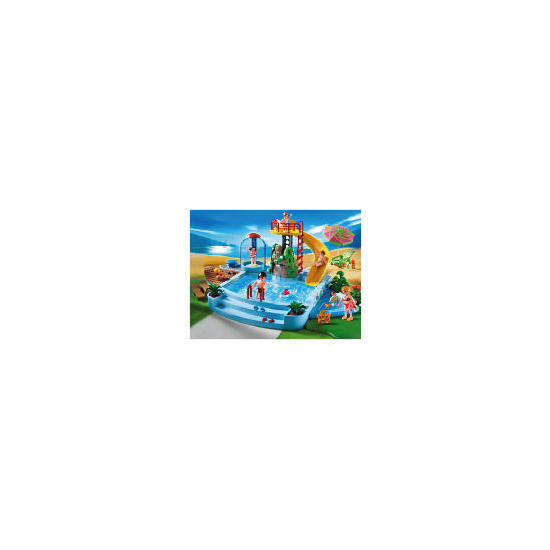 Playmobil Pool With Water Slide