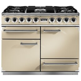Falcon F1092DXDFCR/CM 76850 - 1092 Deluxe 110cm Dual Fuel Range Cooker