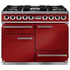 Falcon F1092DXDFRD/NM 87030 - 1092 Deluxe 110cm Dual Fuel Range Cooker