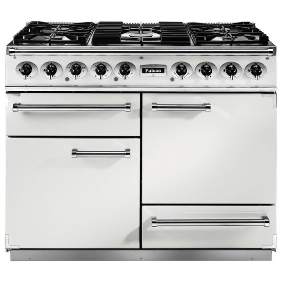Falcon F1092DXDFWH/NM 82300 - 1092 Deluxe 110cm Dual Fuel Range Cooker