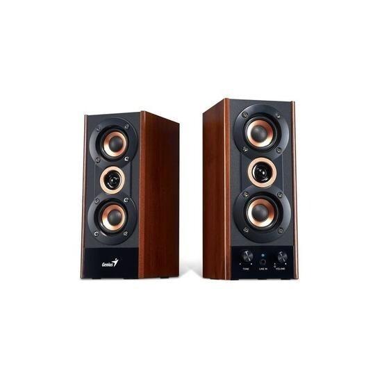 Genius JVC SP-HF800A 20w Wooden Speakers