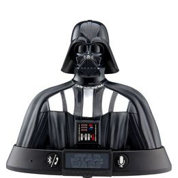 STAR WARS Darth Vader Portable Bluetooth Wireless Speaker - Black